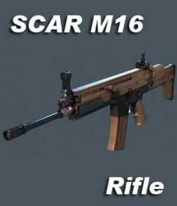 SCAR Rifle - Extended License