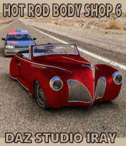 Hot Rod Body Shop Series 6 for Nationale7 Lincoln Zepher Coupe Convertible 1940