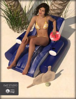 Summer Toys for Genesis 3 and 8 Male(s) and Female(s)