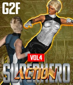 SuperHero Action for G2F Volume 4