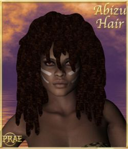 Prae-Abizu Hair For V4 Poser