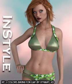 InStyle- X-Fashion 2Colors Top for Genesis 8 Female(s)