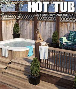 Hot Tub Daz Studio