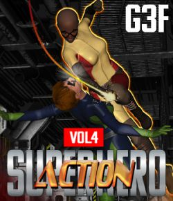 SuperHero Action for G3F Volume 4