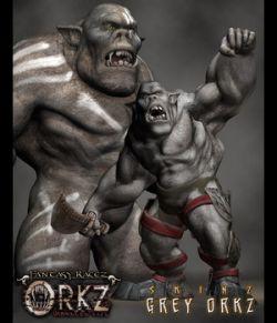 Orkz: Grey Orkz Skin Textures