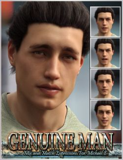 Genuine Man Mix and Match Expressions for Michael 8