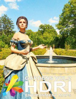 MEC4D HDRI Gardens Vol. 2 - Megapack