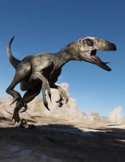 Dinosaurs Series - Deinonychus by AMLM