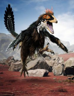 Dinosaurs Series - Feathers Extension for Deinonychus
