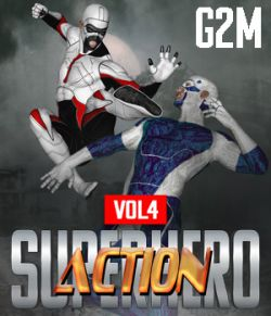 SuperHero Action for G2M Volume 4