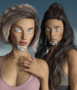 SciFi Teens- Head and Body Morphs for G8F Vol1