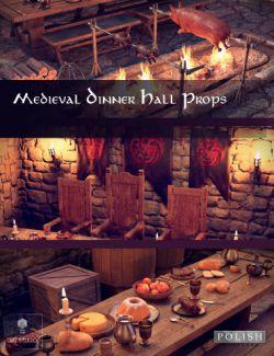 Medieval Dinner Hall Props