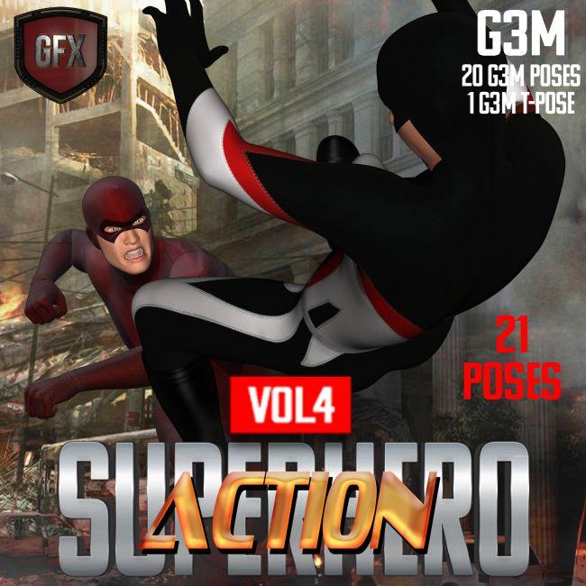 SuperHero Action for G3M Volume 4