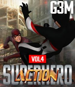 SuperHero Action for G3M Volume 4