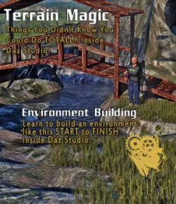 Sixus1 Mentoring Week 05: Terrain Magic for Daz Studio