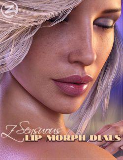 Z Sensuous Lip Morphs for Genesis 8 Female