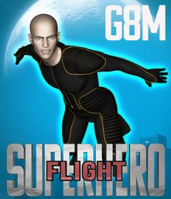 SuperHero Flight for G8M Volume 1