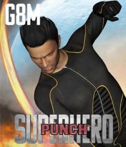 SuperHero Punch for G8M Volume 1