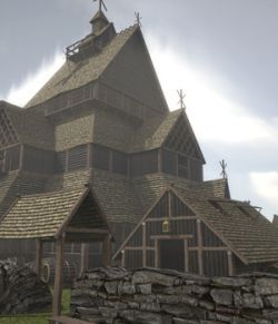 Viking Church- Extended License