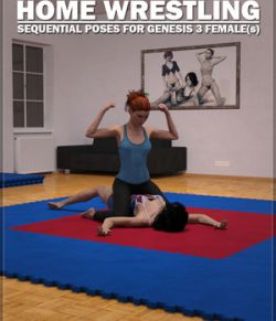 Home Wrestling Poses for Genesis 3 Females