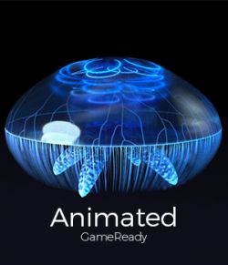Jellyfish - Animated with UE4 & Octane Support