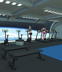 Futuristica_Fitness Center
