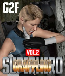 SuperHero Grappling for G2F Volume 2