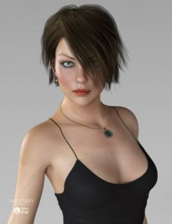 Aviva Hair for Genesis 3 and 8 Female(s)