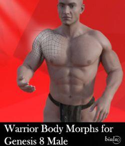 Warrior Body Morphs for Genesis 8 Male