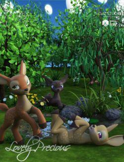 Lovely Precious Vol 01- Deer