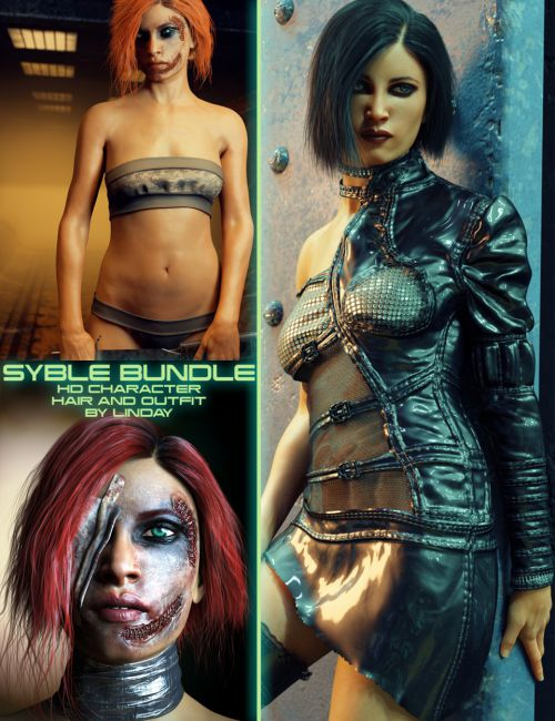 Syble Bundle for Genesis 8 Female(s)