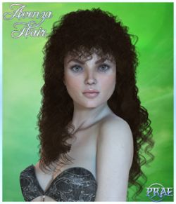 Prae-Avenza Hair for V4 Poser