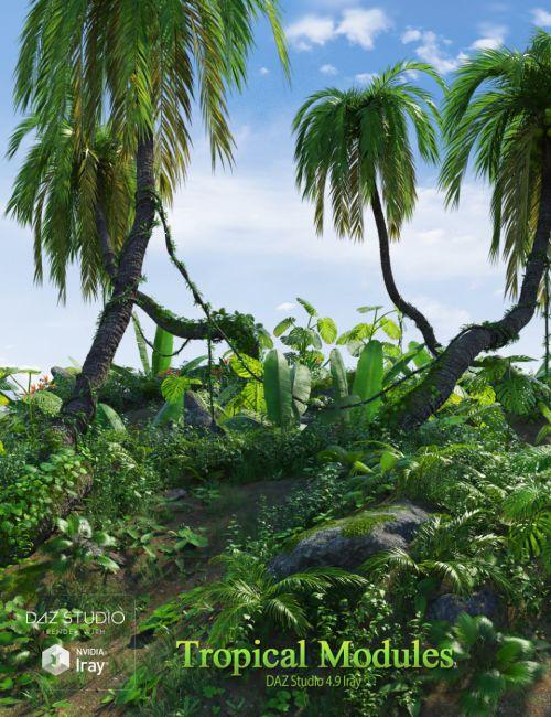 Tropical Modules
