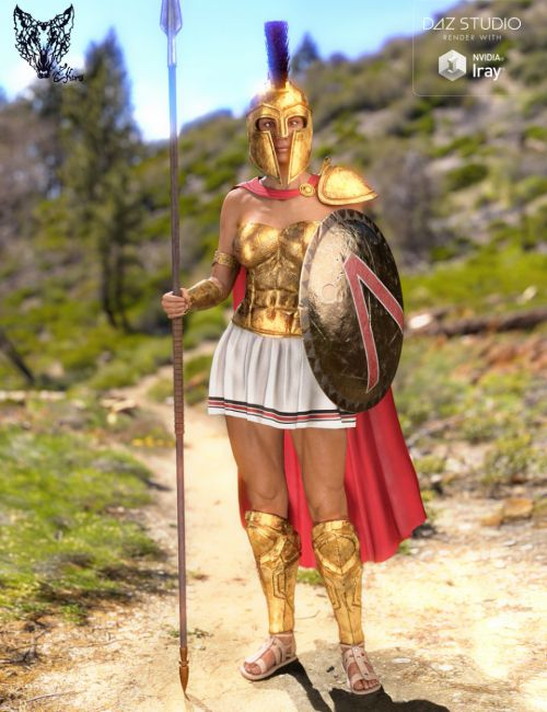Spartan Armor for Genesis 3 and 8 Female(s)