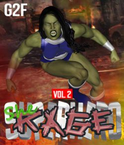SuperHero She-Rage for G2F Volume 2