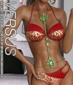 VERSUS- Brilliant Body Jewels for the G3 Female