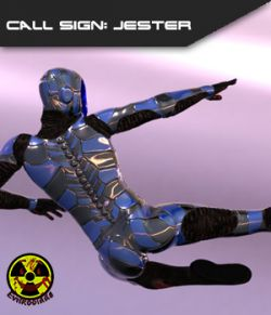 Call Sign Jester - Stand Alone Sci-Fi Figure
