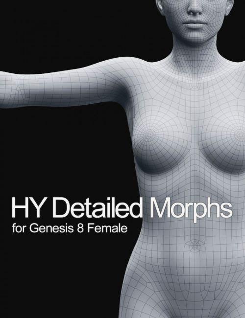 HY Detailed Morphs for Genesis 8 Female