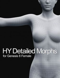 HY Detailed Morphs for Genesis 8 Female