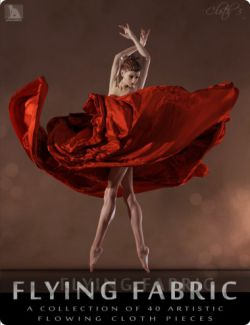 Flying Fabric - Artistic Flowing Cloth Pieces