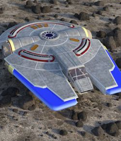 Peregrine Spacecraft - for DAZ Studio