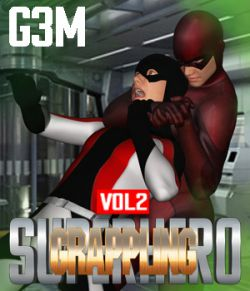 SuperHero Grappling for G3M Volume 2