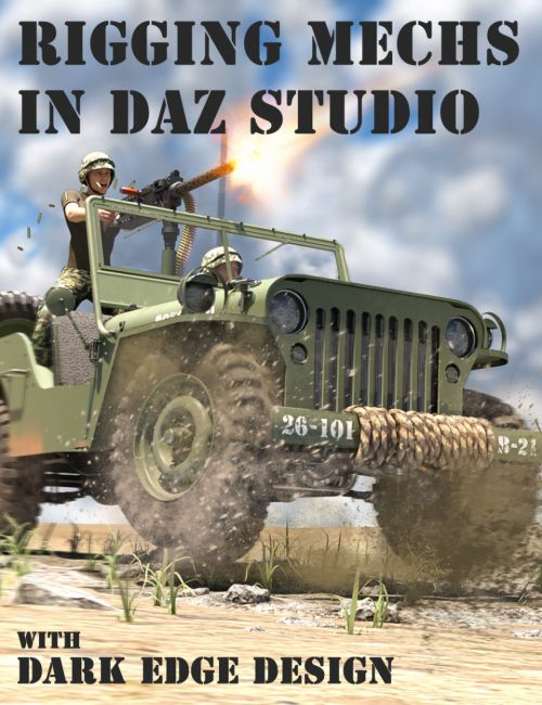 Rigging Vehicles and Mechs in Daz Studio