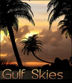 Gulf Skies Background Set
