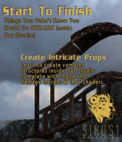 Sixus1 Mentoring Week 07: Start To Finish In Daz Studio