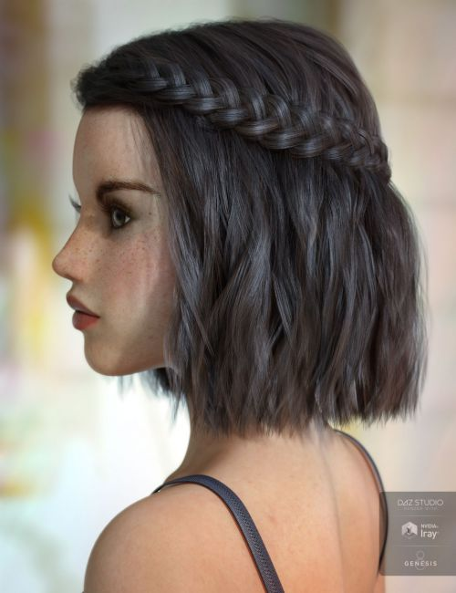 Jocelyn Hair for Genesis 3 & 8 Female(s)