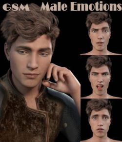 Male Emotions for Genesis 8