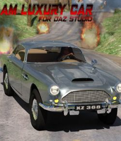 AM Luxury Car- for DAZ Studio