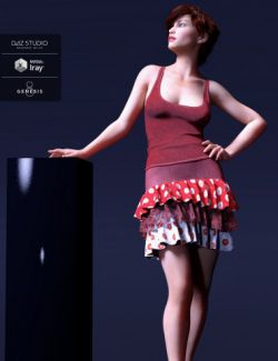 Harmonious Discord Outfit for Genesis 8 Female(s)