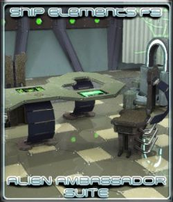 Ship Elements F3: Alien Ambassador Suite
